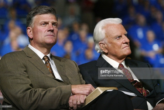 Billy's son Franklin Graham