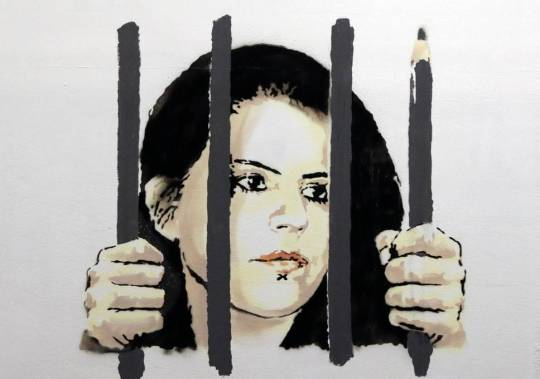Zehra Dogan 2 (Banksy, March 18)